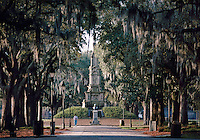 Savannah, Georgia, Forsyth Park, The Confederate Monument