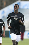 14 December 2007: Wake Forest's Marcus Tracy. The Wake Forest University Demon Deacons defeated the Virginia Tech University Hokies 2-0 at SAS Stadium in Cary, North Carolina in a NCAA Division I Mens College Cup semifinal game.