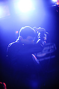 September 8, 2011. Raleigh, N.C.. Cold Cave performs at The Pour House during Hopscotch 2011.