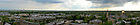 Panoramic image of campus in spring...Photo by Matt Cashore/University of Notre Dame