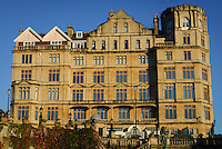 The Empire, Bath, UK, October 17, 2007. The city of Bath is famed for it's hot springs (the only in the UK) and it's Georgian architecture. The city is a UNESCO World Heritage Site.