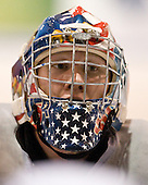 Mike Lee (USA - 30) - Team USA practiced at the Agriplace rink on Monday, December 28, 2009, in Saskatoon, Saskatchewan, during the 2010 World Juniors tournament.