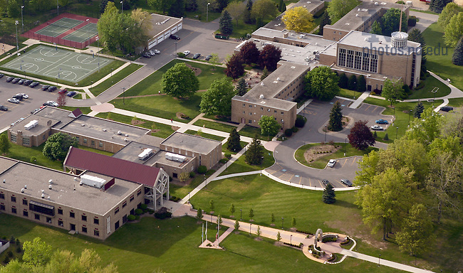 Holy Cross College aerial