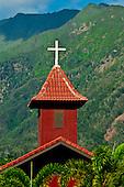 Steeple at Ekalesia O Kupaianaha Church, Wailuku, Maui