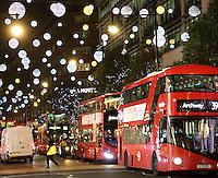 NOV 25 London Christmas Lights