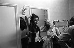 PAUL McCARTNEY & LINDA WINGS TOUR 1975 STOCK PHOTOGRPHY by HOMER SYKES