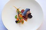 lamb, carrots and summer botanicals