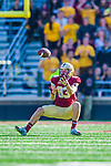 2 November 2013: Boston College Eagles wide receiver Alex Amidon (83) pulls in a pass for a first down in the fourth quarter against the Virginia Tech Hokies at Alumni Stadium in Chestnut Hill, MA. The Eagles defeated the Hokies 34-27. Mandatory Credit: Ed Wolfstein-USA TODAY Sports *** RAW (NEF) Image File Available ***