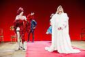 "London, UK. 29/06/2011.  les ballets C de la B Alain Platel and Frank Van Laecke present ""Gardenia"" at Sadler's Wells. In red: Vanessa Van Durme. Front: Richard ""Tootsie"" Dierick. Photo credit should read Jane Hobson"