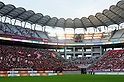Kashima Soccer Stadium, JULY 10th, 2011 - Football : A general view inside of Kashima Soccer Stadium before the 2011 J.League Division 1 match between Kashima Antlers 1-2 Albirex Niigata in Ibaraki, Japan. Because there is a falling hazard due to earthquakes, lights removed from the roof  were installed temporarily on four corners of the upper stands. (Photo by AFLO)