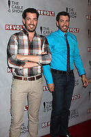 Jonathan Scott, Drew Scott<br /> at the NCTA's Chairman's Gala Celebration of Cable with REVOLT, The Belasco Theater, Los Angeles, CA 04-30-14<br /> David Edwards/DailyCeleb.Com 818-249-4998