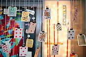 Cards: Two Decks installation (First Deck) at Durham Cinematheque on Thursday June 28th 2012.