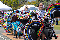 Grupo Folklórico Mexcaltitán perform at Virginia Avenue Park during the Fourth Annual Cinco De Mayo Fiesta on Sunday, May 2, 2010.