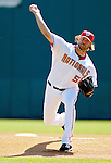 5 March 2006: Jon Rauch, pitcher for the Washington Nationals, winds up on the mound during a Spring Training game against the Baltimore Orioles. The Nationals defeated the Orioles 10-6 at Space Coast Stadium, in Viera Florida...Mandatory Photo Credit: Ed Wolfstein..