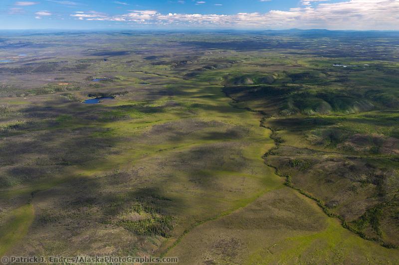 Tundra Flats along the Yukon River in central interior Alaska