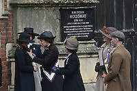 APR 19 'Suffragette' film set, London