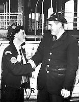 Man of the Month Awarded to Cable Car Conductor Mary Alice Ball | Circa February 1953
