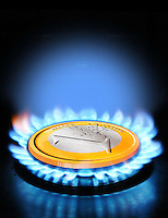 Aumento dei prezzi per la fornitura di gas domestico..Rising prices for the supply of domestic gas.....