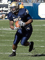 Pittsburgh running back Conredge Collins, October 3, 2007.