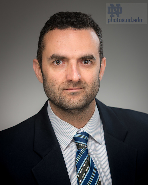 May 11, 2017; Vlad M. Iluc, Associate Professor of Chemistry and Biochemistry, University of Notre Dame (Photo by Matt Cashore/University of Notre Dame)