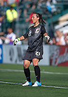 Jill Loyden.  The USWNT defeated Costa Rica, 8-0, during a friendly match at Sahlen's Stadium in Rochester, NY.