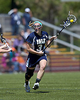 Yale University midfielder Ashley McCormick (3). Boston College defeated Yale University, 16-5, at Newton Campus Field, April 28, 2012..