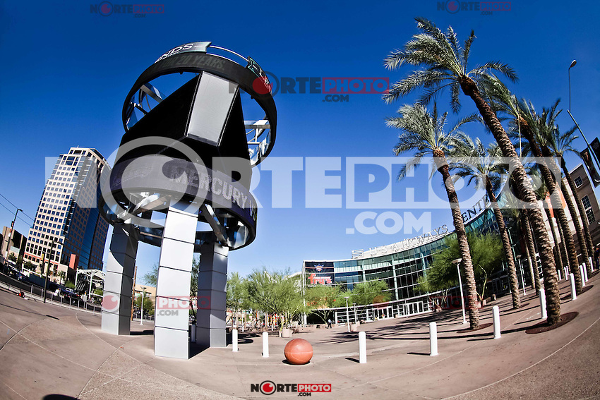 centro de Phoenix,Phoenix, US Airways Center, America West Arena,Chase Field,Downtown Phoenix, estadio Chase Field