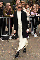 Olivia Palermo arrives for the Topshop Unique AW17 show as part of London Fashion Week AW17 at Tate Modern, London, UK. <br /> 19 February  2017<br /> Picture: Steve Vas/Featureflash/SilverHub 0208 004 5359 sales@silverhubmedia.com