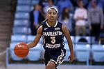 22 November 2016: Charleston Southern's Ke'Asia Jackson. The University of North Carolina Tar Heels hosted the Charleston Southern University Buccaneers at Carmichael Arena in Chapel Hill, North Carolina in a 2016-17 NCAA Women's Basketball game. UNC won the game 93-77.