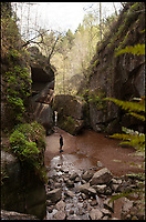 BNPS.co.uk (01202 558833)<br /> Pic: WildGuideScotland/BNPS<br /> <br /> Burn o'Vat gorge in the southern Cairngorms<br /> <br /> Scotland's stunning unspoiled scenery is being shown in a whole new light in a book that reveals the hidden gems off the beaten track north of the border.<br /> <br /> Three young photographers travelled the width and breadth of Scotland and snapped 750 picturesque places which include shimmering lochs, ancient forests, lost ruins, hidden beaches, secret islands, dramatic cliffs, tiny glens and mysterious grottoes. <br /> <br /> Friends Kimberley Grant, David Cooper and Richard Gaston, all in their late 20s, have spent the past two years exploring lesser known idyllic spots which they are keen to bring to a wider audience.