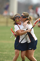 University of Virginia women's lacrosse team led by head coach Julie Myers (pictured) has released a statement saying the team will play out the rest of the season Tuesday May 4, 2010 in Charlottesville, VA.  George Huguely, 22, a fourth-year student from Chevy Chase, Md., has been charged with first-degree murder in the death of UVa women's lacrosse player Yeardley Love, 22, a fourth-year student from Cockeysville, Md., that took place early Monday morning May 3, 2010 in Charlottesville, Va. Photo/Andrew Shurtleff