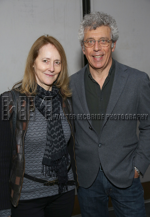 Jo Bonney and Eric Bogosian attends the Broadway Opening Night of 'Lillian Helman's The Little Foxes' at the  Samuel J. Friedman Theatre on April 19, 2017 in New York City