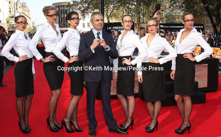 London - UK Premiere of 'Johnny English Reborn' at the Empire, Leicester Square, London - October 2nd 2011..Photo by Keith Mayhew
