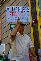 Protesting ALEC ( The American Legislative Exchange Council