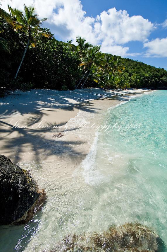 Salomon Beach.Virgin Islands National Park.St John, US Virgin Islands