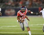 Ole Miss quarterback Barry Brunetti (11) vs. Texas at Vaught-Hemingway Stadium in Oxford, Miss. on Saturday, September 15, 2012. Texas won 66-21. Ole Miss falls to 2-1.