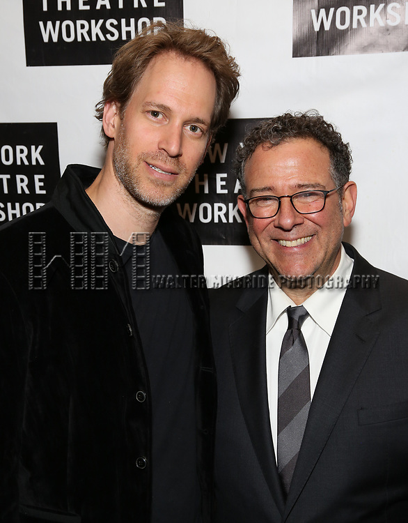 David Korins and Michael Greif attends New York Theatre Workshop's 2017 Spring Gala at the Edison Ballroom on May 15, 2017 in New York City.