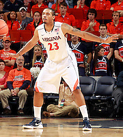 CHARLOTTESVILLE, VA- DECEMBER 6: Mike Scott #23 of the Virginia Cavaliers during the game on December 6, 2011 against the George Mason Patriots at the John Paul Jones Arena in Charlottesville, Virginia. Virginia defeated George Mason 68-48. (Photo by Andrew Shurtleff/Getty Images) *** Local Caption *** Mike Scott