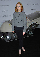 Actress Molly Quinn at the world premiere of &quot;Passengers&quot; at the Regency Village Theatre, Westwood. <br /> December 14, 2016<br /> Picture: Paul Smith/Featureflash/SilverHub 0208 004 5359/ 07711 972644 Editors@silverhubmedia.com
