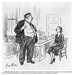 "Gentleman (dictating letter). ""I have already reduced my figure by three hundred pounds and, having regard to the considerable frontage, I fear it will be almost impossible to reduce it further."""