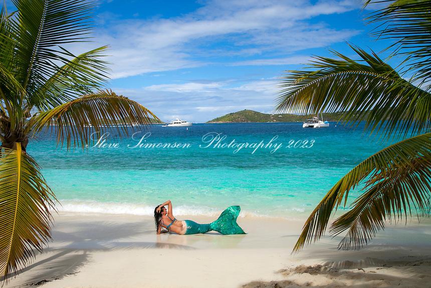 Mermaid Crystal<br /> Salomon Beach<br /> Virgin Islands National Park<br /> St. John, US Virgin Islands