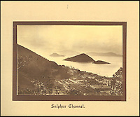 BNPS.co.uk (01202 558833)<br /> Pic: Tooveys/BNPS<br /> <br /> The Sulphur Channel, a narrow inshore passage between Green Island and the northwest tip of Hong Kong Island.<br /> <br /> A fascinating set of early images of Hong Kong long before it became the metropolis it is today have surfaced. <br /> <br /> The black and white photographs dating to the early 20th century depict a region unrecognisable to what stands today. <br /> <br /> There are several shots of natives walking down packed low-rise streets while a number of others picture primitive sailing boats. <br /> <br /> The collection was compiled by adventurous British photographer Denis H. Hazell, who took each of the 26 postcard-like photos.