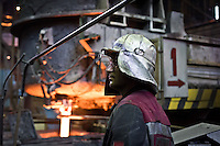 Ilyich Iron and Steel Works in Mariupol