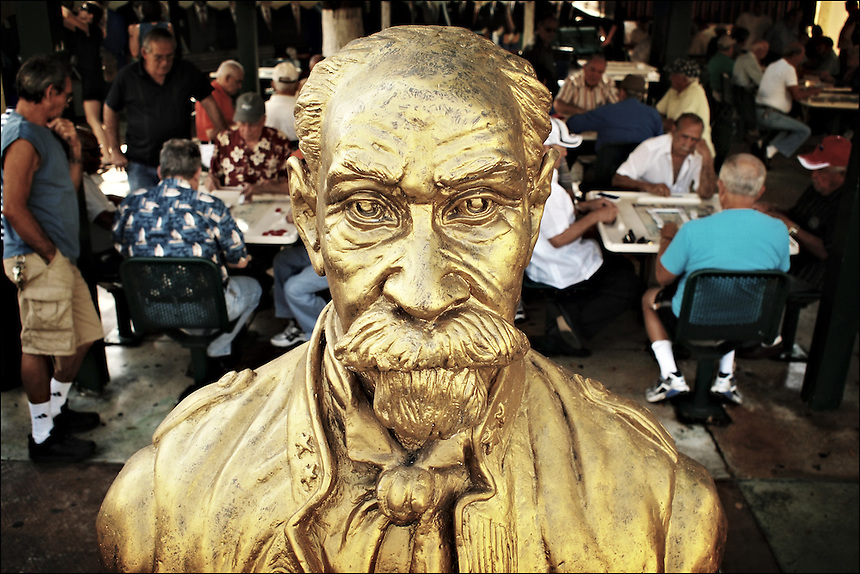 General Maximo Gomez and his men<br /> From &quot;Life to waste&quot; series<br /> Little Havana, Mar 2011