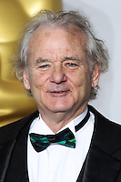 HOLLYWOOD, LOS ANGELES, CA, USA - MARCH 02: Bill Murray at the 86th Annual Academy Awards - Press Room held at Dolby Theatre on March 2, 2014 in Hollywood, Los Angeles, California, United States. (Photo by Xavier Collin/Celebrity Monitor)