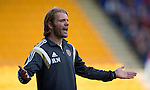 St Johnstone v Hearts...03.08.14  Steven Anderson Testimonial<br /> Robbie Neilson<br /> Picture by Graeme Hart.<br /> Copyright Perthshire Picture Agency<br /> Tel: 01738 623350  Mobile: 07990 594431
