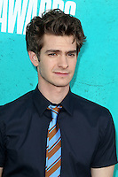 LOS ANGELES - JUN 3:  Andrew Garfield arriving at the 2012 MTV Movie Awards at Gibson Ampitheater on June 3, 2012 in Los Angeles, CA