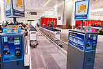 Luggage carts rental at Toronto Pearson International airport, Canada