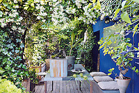 This urban jungle was inspired by the owners' travels and their passion for plants