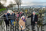 frustration of people with mobility issues not able to access Rath Cemetery through the  gates at  bank holiday and weekends Pictured front  l-r   Euphemia Fitzgibbon, Rahoonane, Tralee and Thomas Trant, Listellick Tralee, Back l-r Micheal Kerins, Garry Moore, John O'Sullivan, Cllr Norma Foley, Denise McMahon, Natalie Arus, Mandy Trant, Jo anne Kelly, Gabriel Kerins,
